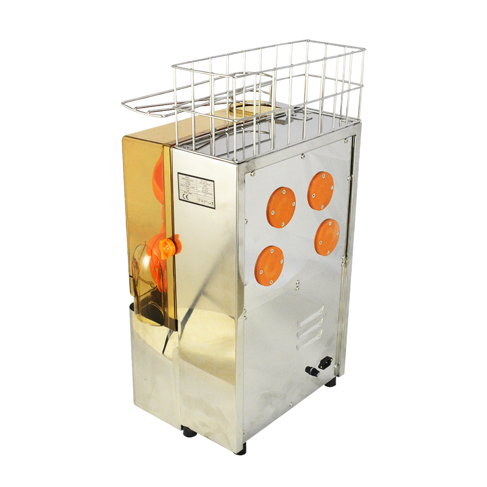 Commercial Auto Feed Orange Juicer Stainless Steel Citrus