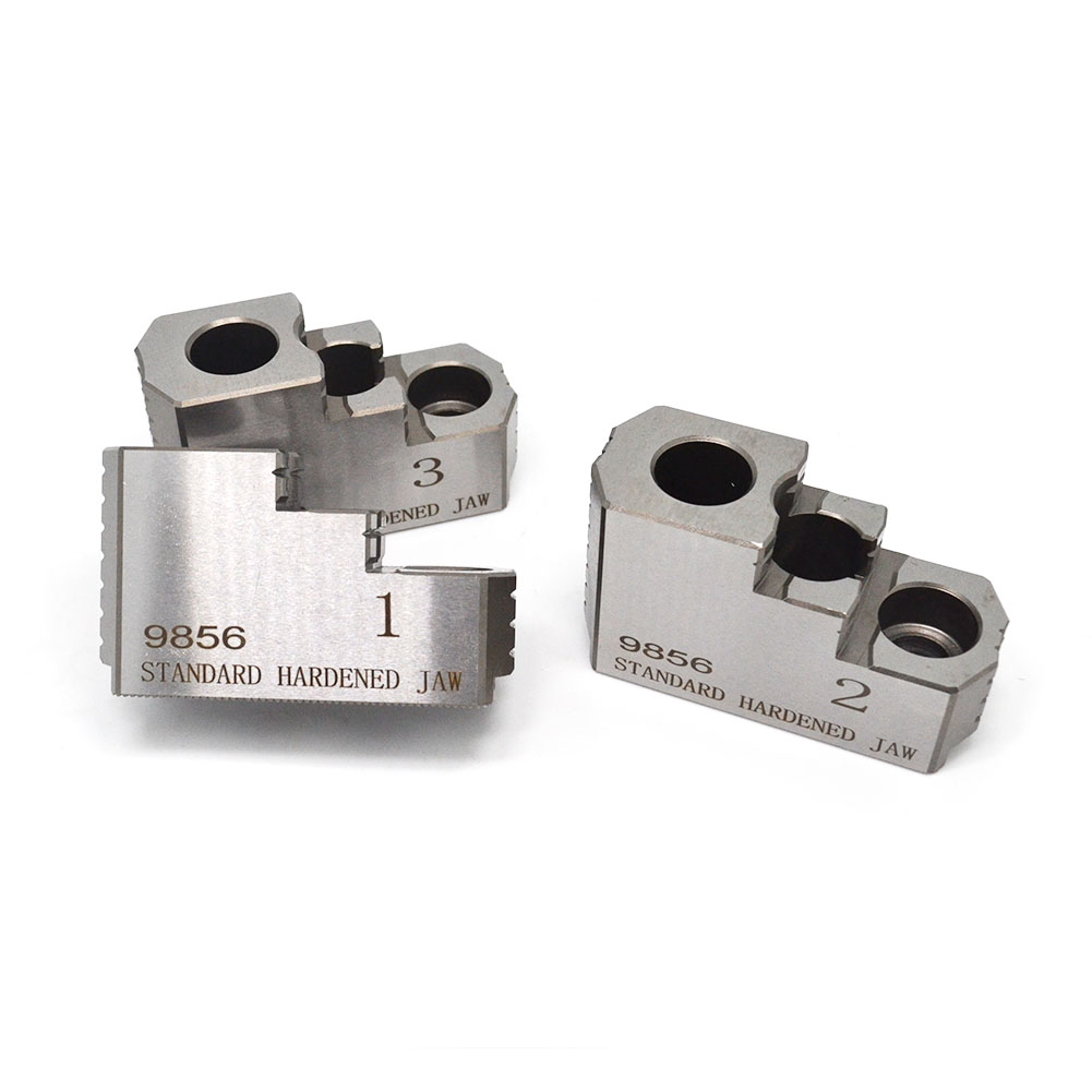 """8/"""" Reversible Double Step Steel Hard Chuck Jaws"""