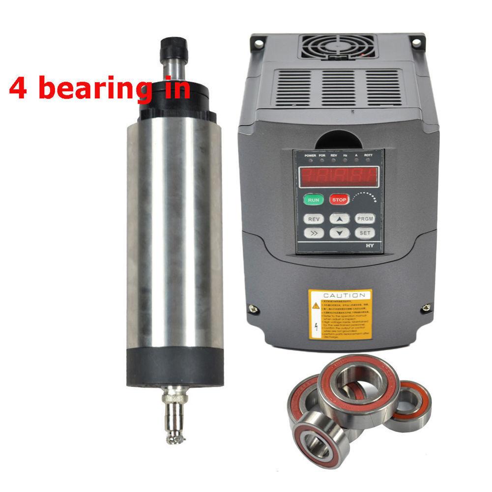 0,8KW ER11 Luftgekühlt Spindelmotor Frässpindel CNC Air cooled Spindle