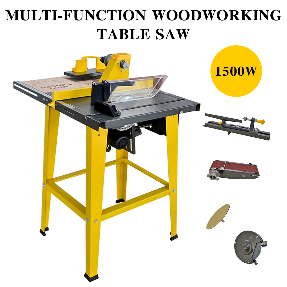 details about multi-function woodworking table saw 31''×24'' bench saw