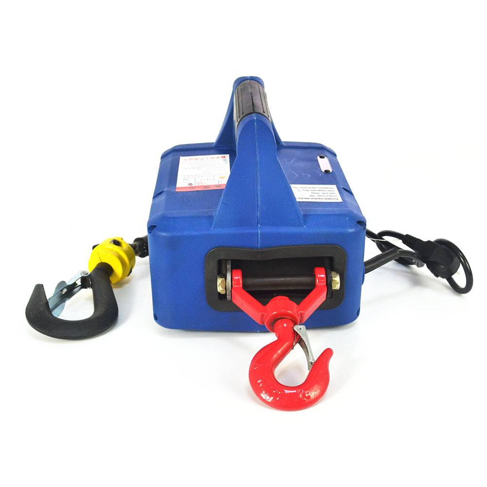 500kgx7 6m 110v Portable Household Electric Winch Manual