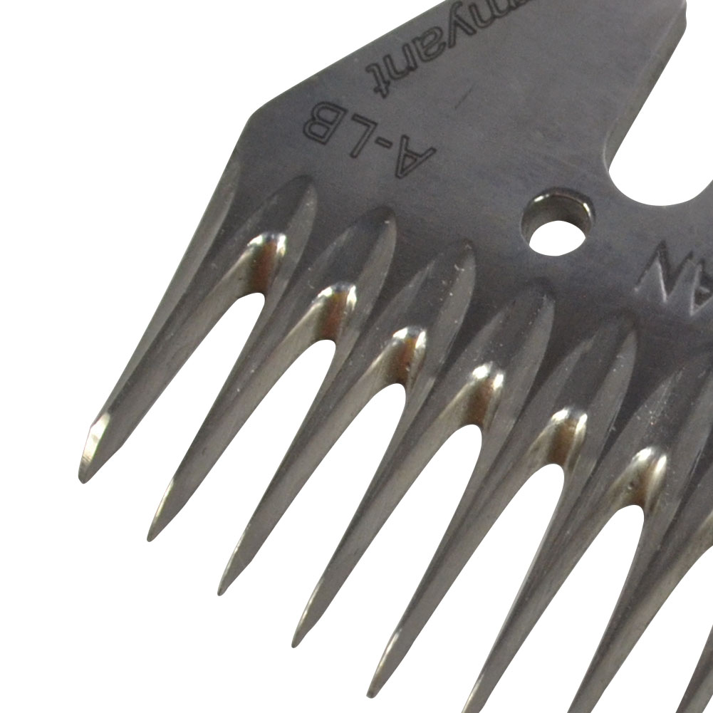 13+4 Teeth High Straight Blade Stainless Steel Strength for Sheep//Goat Shearing
