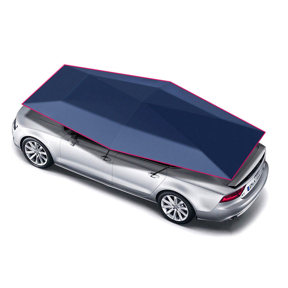 Halbautomatischer AutoRegenschirm-Sonnenschutz-Dach-Abdeckungs-UVschutz Portable